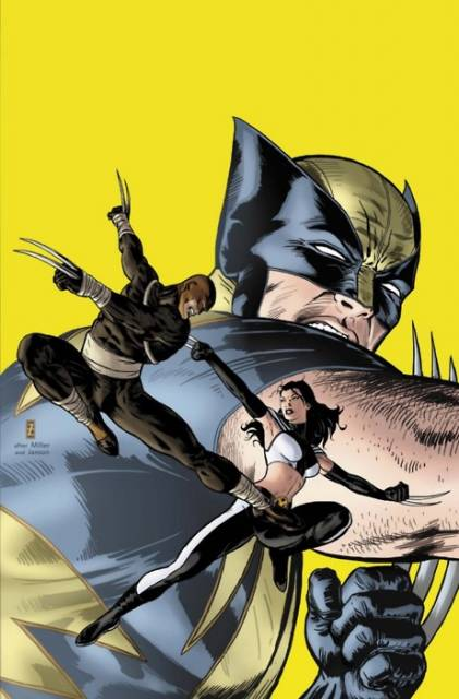 Daken and X-23 together again.