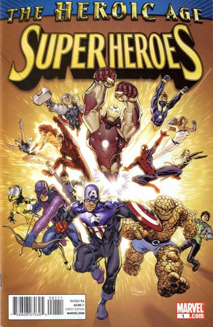 The Heroic Age: Super Heroes