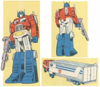 Optimus Prime's most familiar vehicle mode.