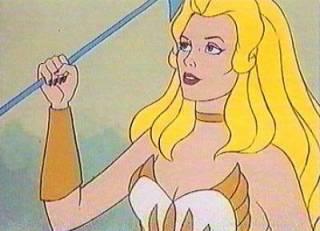 She-Ra with no Tiara