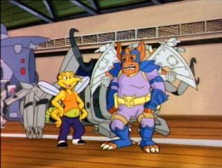 Screwloose & Wingnut - TMNT 1987
