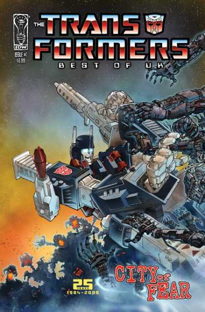 Transformers: Best of UK: City of Fear