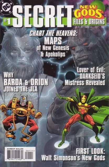 The New Gods Secret Files and Origins