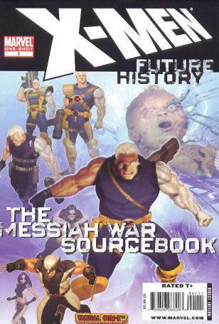 X-Men: Future History –– Messiah War Sourcebook