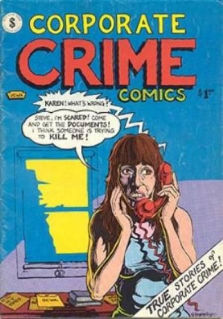 Corporate Crime Comics