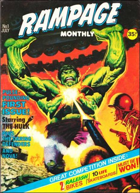 Rampage Monthly