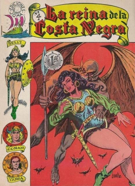 La Reina de la Costa Negra c.1965 featured a blond Conan!