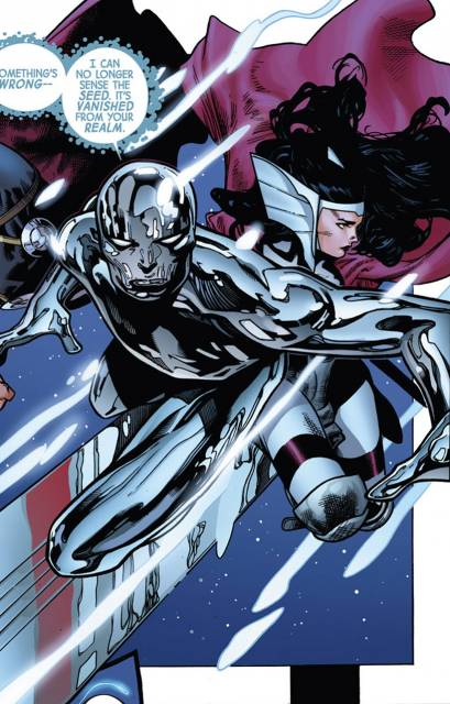 Sif and Silver Surfer