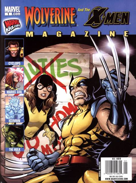 Wolverine and the X-Men Magazine