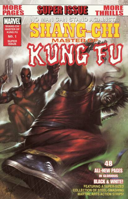 Shang-Chi: Master of Kung Fu One-Shot (B&W)