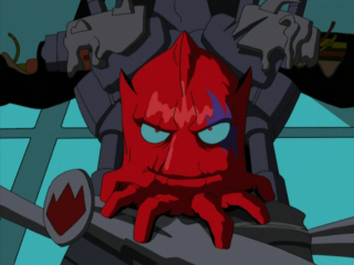 This version of Shredder was revealed to be an Utrom