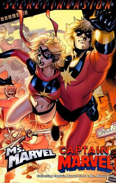 Captain Marvel/Ms. Marvel: Secret Invasion Infiltration