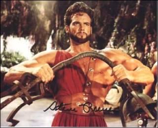 The model for Marvel's Hercules: Steve Reeves