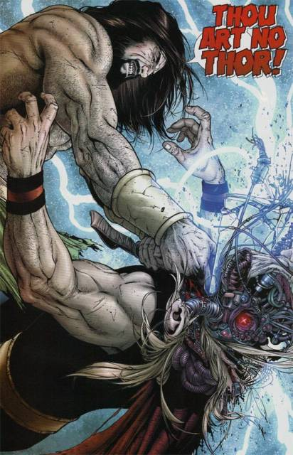 Hercules puttin' the smackdown on Ragnarok