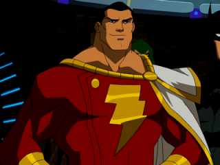 Captain Marvel from Young Justice