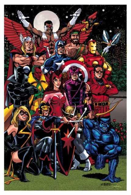 Bronze Age Avengers