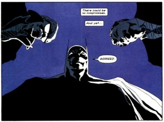 Batman, Jim Gordon and Harvey Dent