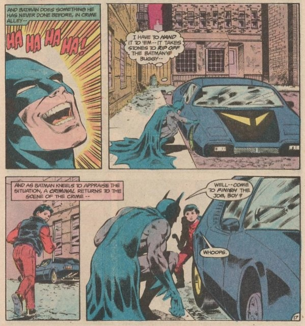 Batman meets Jason Todd