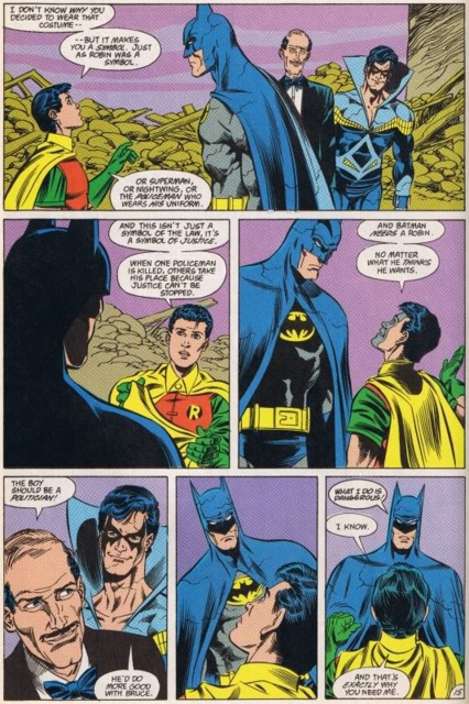Tim Drake the new Robin