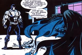 Batman meets Bane