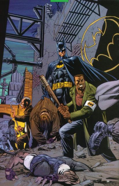Batman marks his territory in NML