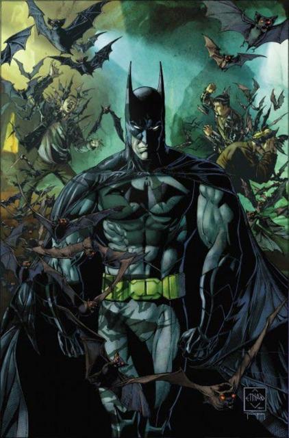 Batman's New 52 re-design
