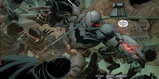 Batman defends his home against the Talons