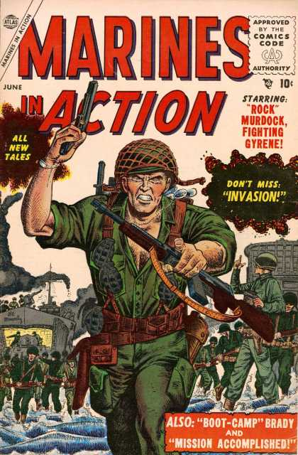 Marines In Action