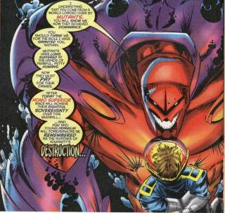 Onslaught and Franklin Richards