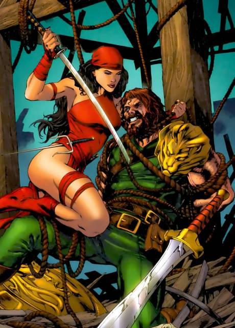 Elektra and Hercules
