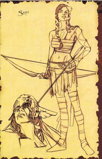 Sif Sketch