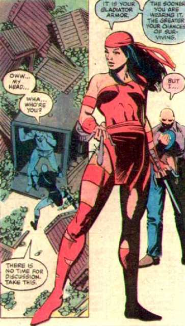 Elektra and Gladiator