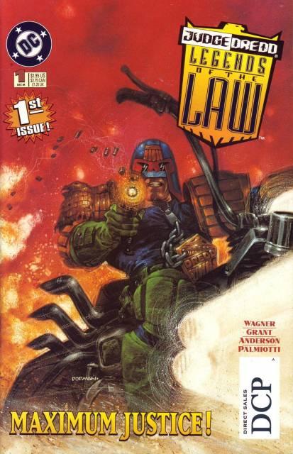 Judge Dredd Legends of the Law