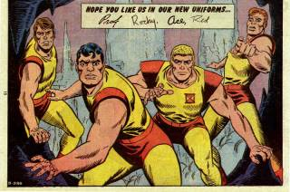 The Challengers of the Unknown defeated Multi-Man multiple times.