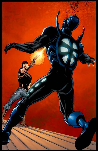 Maxwell kills another Blue Beetle?