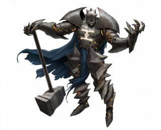 Mokk: Breaker of Faith (Grey Gargoyle)