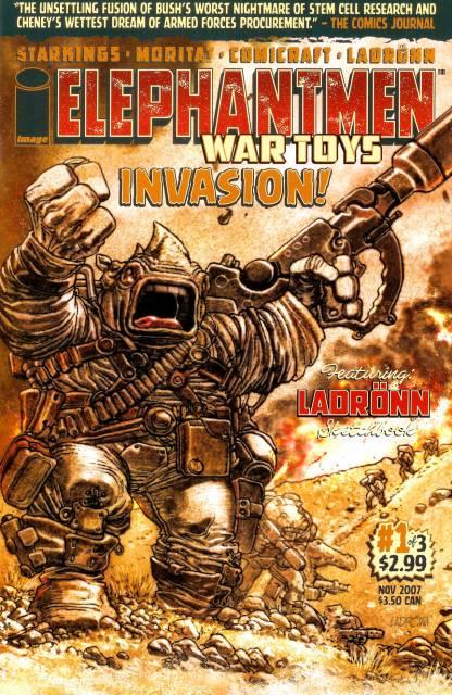 Elephantmen: War Toys