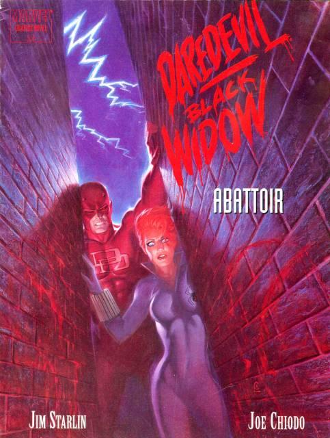 Daredevil and Black Widow