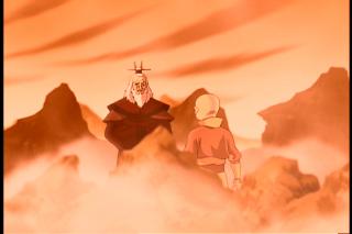 As Aang's spiritual guide