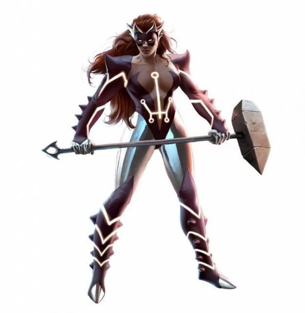 Skirn: Breaker of Men (Titania)