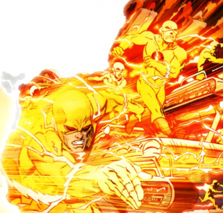 Eobard Thawne - Generator of the Negative Speed Force