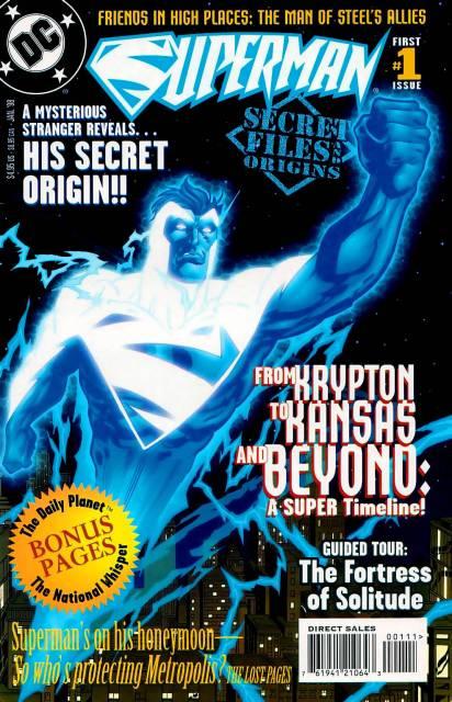 Superman Secret Files & Origins