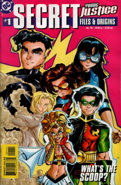 Young Justice Secret Files