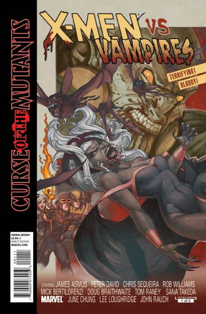 X-Men: Curse of the Mutants - X-Men Vs. Vampires