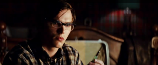 Nicholas Hoult as a young Hank McCoy
