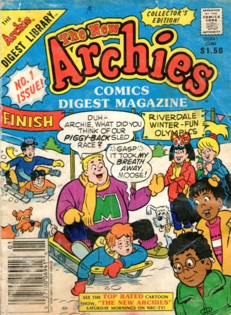 The New Archies Comics Digest Magazine
