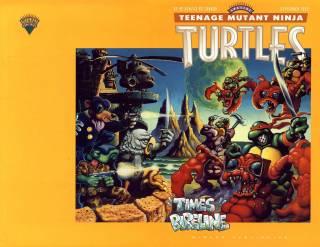 Teenage Mutant Ninja Turtles: Times Pipeline
