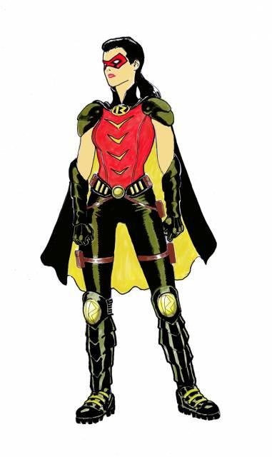 Helena as Robin