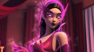 Carol Ferris as Star Sapphire in Green Lantern: The Animated Series (voiced by Jennifer Hale)