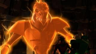 Larfleeze in Green Lantern the Animated Series